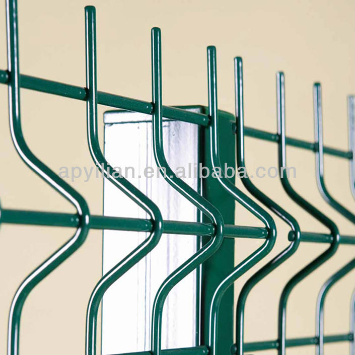 PVC Coated Welded Wire Mesh Fence for sale