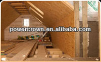 high density glass wool acoustic board thermal resistant building material