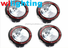 "4"" 12V/9-32V 4 different color lens covers for choice&hid xenon spot light 35w/55w"