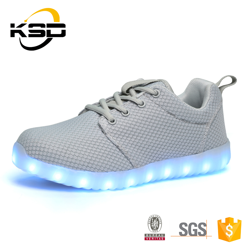 JINJIANG Ksd Leader Men Shoes The Factory Shipment LED Lights For Shoes