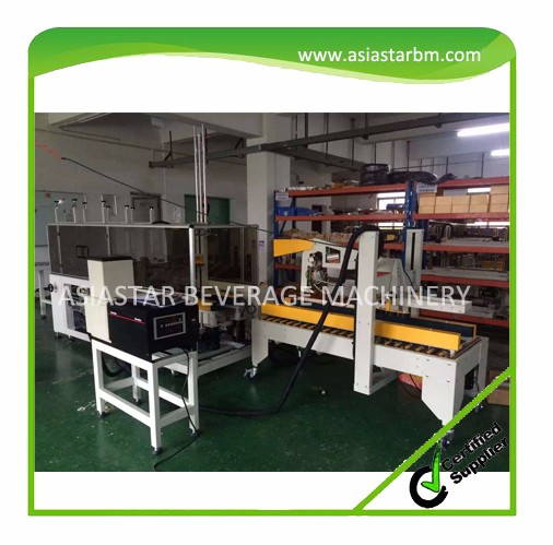 2016 Newest best selling automatic folding carton box erecting packing machine(CE,ISO)