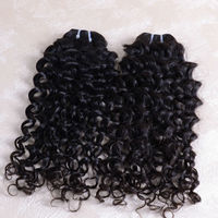 Hot Xuchang Hair DK Factory Price Full cuticle 3pcs 22inch natural malaysian Italian wave human hair