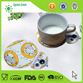 2017 New Design 3D printed fashion high quality silicone tea cup coaster