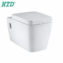 HTD-2051 Ceramic Two Piece Toilet With Watermark Certificate
