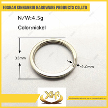 Factory price metal key ring 32mm ring for bag parts