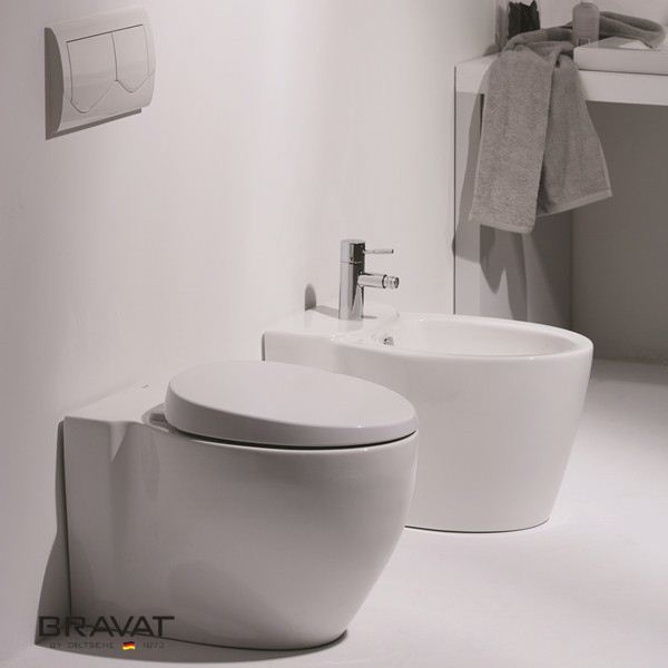tankless toilet Swiss Geberit Soft Closing