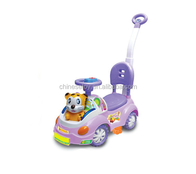 Baby Car with Horn,Music and Light Pedal Kid's Car