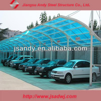 Customized Outdoor Metal Roof Car Parking Canopy