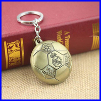 Promotion Gift Custom Football Metal Key chain