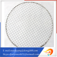bbq wire mesh/barbecue round grill Complete in sizes