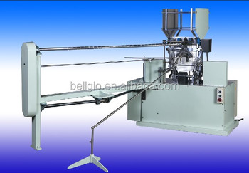 Wire hanger with paper tube assembing machine