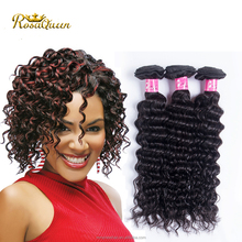 Best selling no shedding unprocessed human hair 8a deep wave vigin lima peru peruvian hair