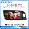 ZT-A708 09-13 car dvd player for AUDI q5 Car gps navigation system with TV bluetooth 3g