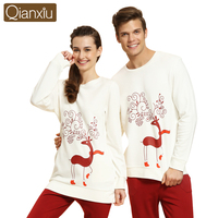 Qianxiu new arrival sleepwear family christmas pajamas