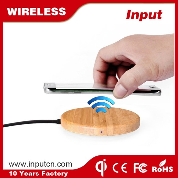 Factory promotional mobile phone accessories qi wireless charger circuit for iPhone