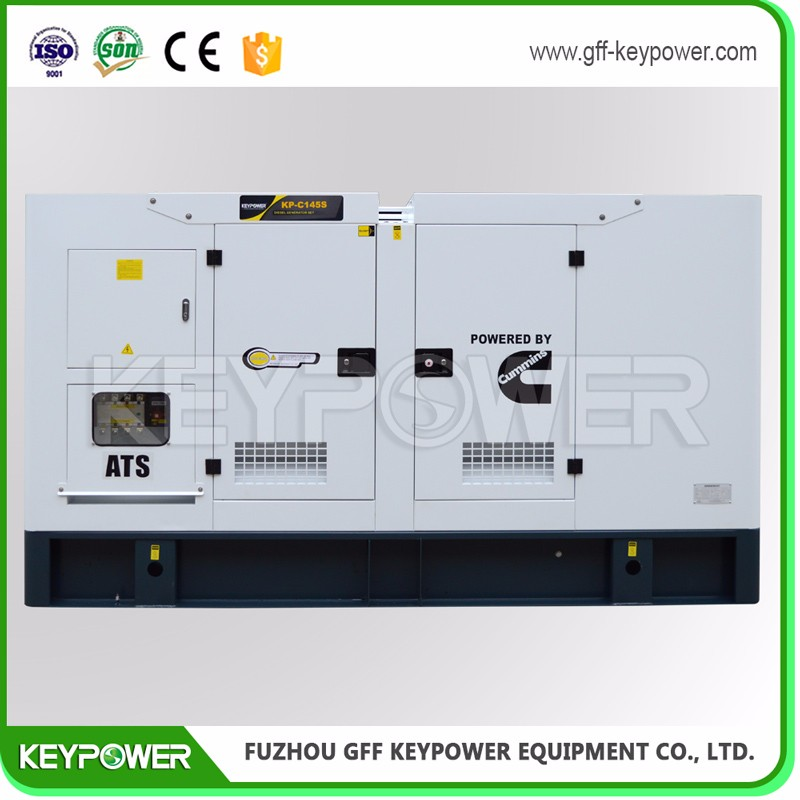 Three Phase 125kva Silent type diesel generator with OEM Certification
