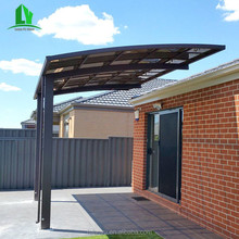 Outdoor prefab sun shades Metal frame waterproof steel car canopy