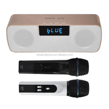 Multifunctional wireless microphone N200 combination with wireless speakers