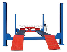 Factory price cheap high quality four post car lift for summer promotion!!!
