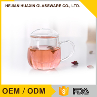 Heat Resistant Glass Bulk Decoration Made In China Mug Cup Tea