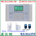 house security use gsm wireless wired home house alarm systems support auto dial & SMS function