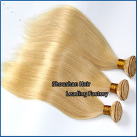 Russian Hair Brazilian 613 Blonde Hair Weave long human hair weave