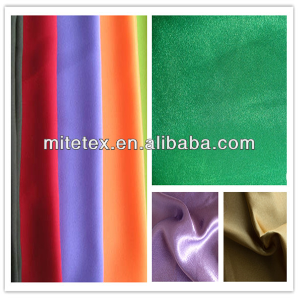 poly satin creping fabric for table