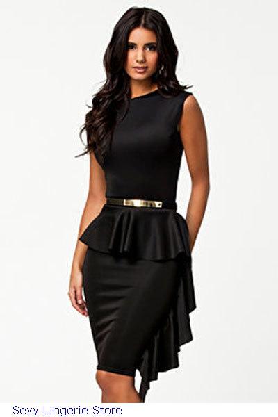 Cheap Black Midi Peplum Dress Find Black Midi Peplum Dress Deals On