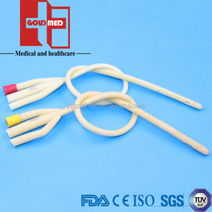 Medical Disposable Latex Foley Catheter With Hard Valve Coated (GFC1040)