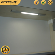 USB Rechargeable Motion Sensing Closet Under Cabinet LED Night Light Bar with Magnetic Strip