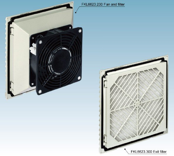 FKL66 series of fan and filter