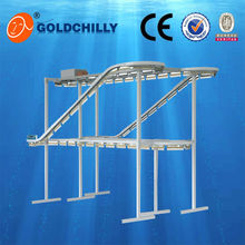 garment display rack dry cleaning clothes conveyor for sale