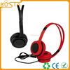Professional stereo deep bass comfortable cozy 6.3mm musical headphones