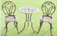 Cast Aluminum Garden Furniture Set Spray Bistro Set