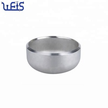 B16.9 sch40 stainless steel pipe fitting butt weld end cap