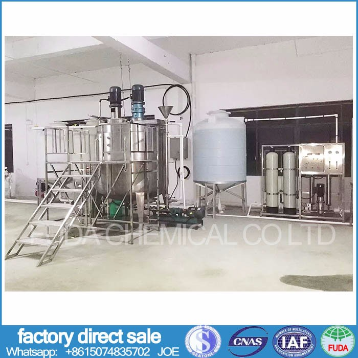 Liquid soap making machine for shampoo face lotion cream liquid detergent