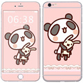 Warranty sticker skin cover custom vinyl decals stickers for Iphone 6plus