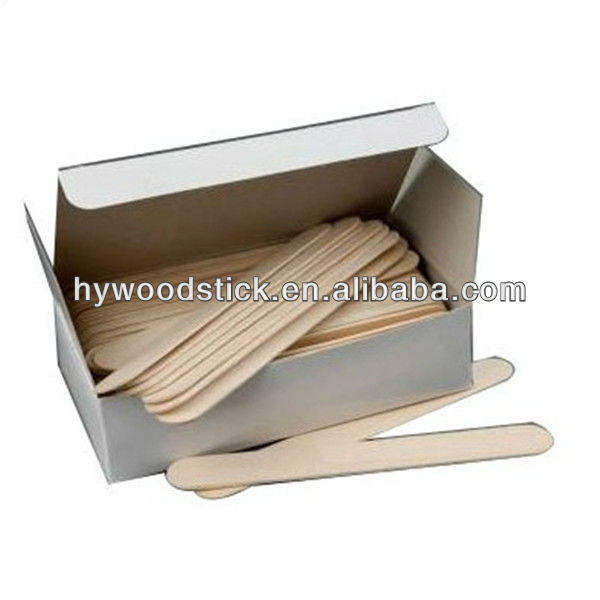 Wooden Waxing Spatulas Medical Instrument Health