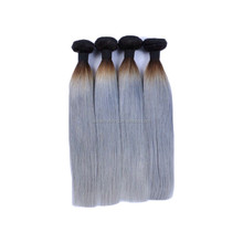 cheap brazilian virgin hair 1b/gray color,100 human hair sew in weave, Top Quality Cheap vrigin brazilian hair 3 hairbundles