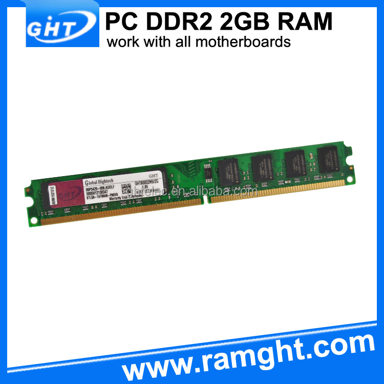 Low density and brand new 128mbx8 pc6400 ddr2 2gb pc memory