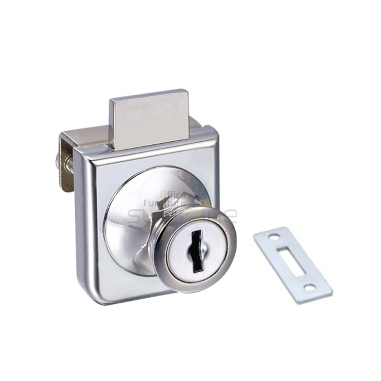 Small Single Commercial Glass Cabinet Door Locks