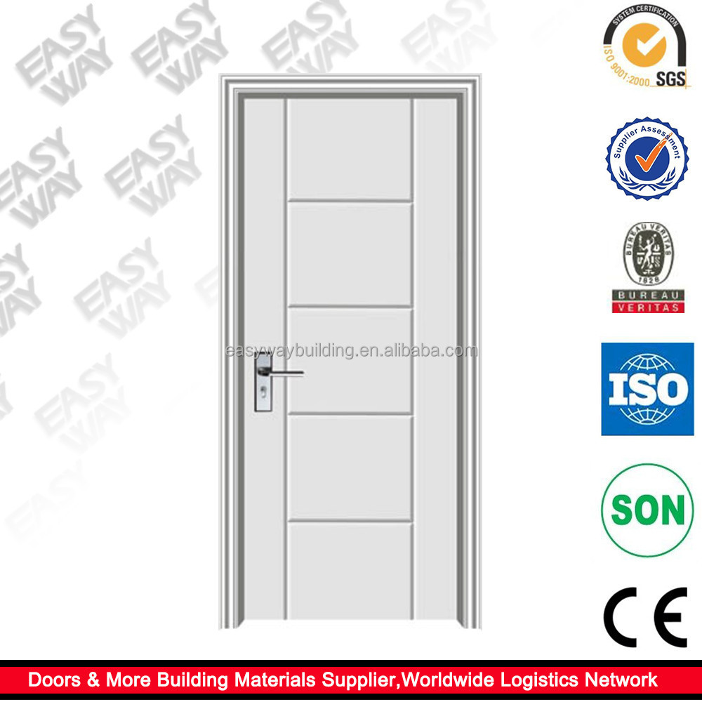 Guangzhou Mordern Design Plain White Bedroom Door For Sale