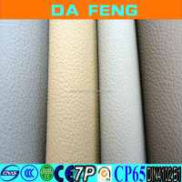 Top quality resonable prices pvc leather for making car seat cover, car inner used leather