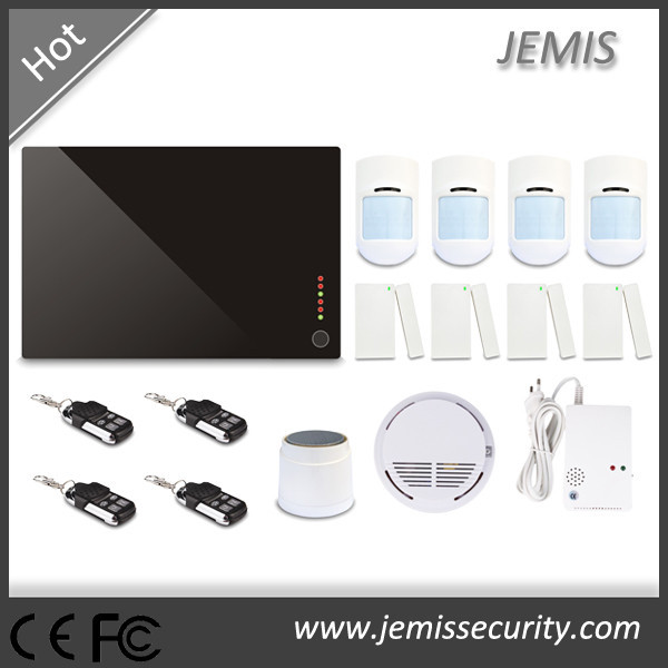 wireless intelligent security alarm system/intruder alarm with earthquake detector JM-G1D