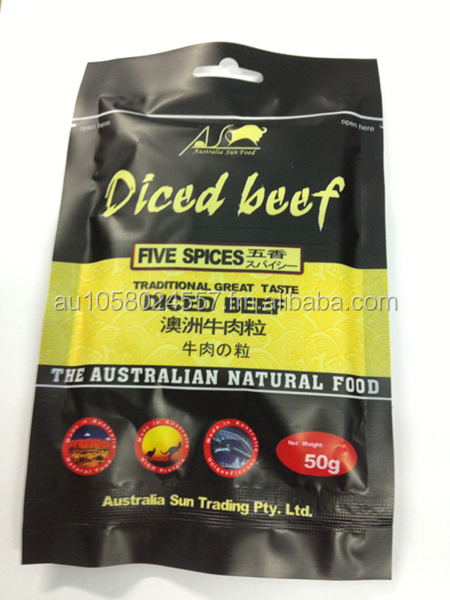 Beef Dice- Five Spices Flavour - Australia Sun Trading