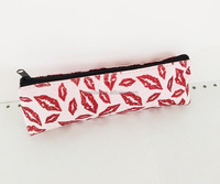 manufacture high quality cute pvc pencil case in china