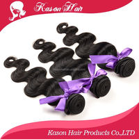 "Qingdao Kason Hair 7A Top Body Wave 26""28""30"" 3Pcs Lot Wholesale Cheap Brazilian Hair Weave Bundles Best Distributors"