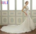 SL-29 Custom made Mermaid Alibaba Wedding Dress 2017