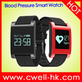 Cheap Price 0.95'' OLED Screen Heart Rate Monitor Blood Pressure Monitor Bluetooth DM68 Smart Watch
