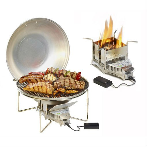 VITALGRILL STOVE BBQ WOOD GRILL ECOLOGICAL